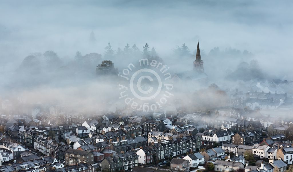 Keswick in the Mist