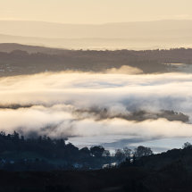 Cloud Inversion over Lake Windermere
