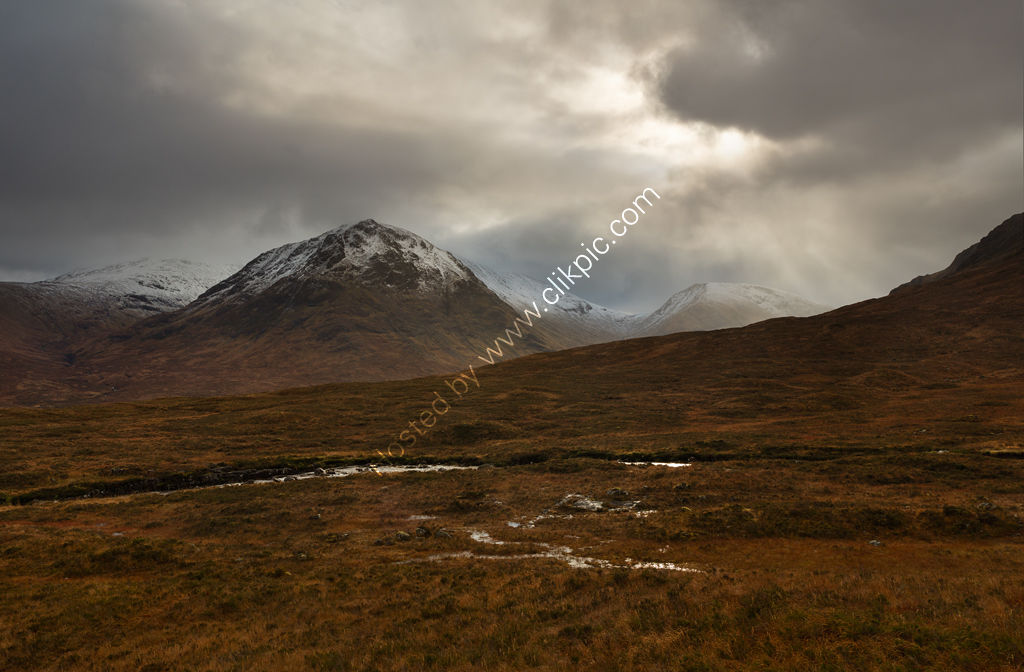 Storm Clouds over Sron na Creise