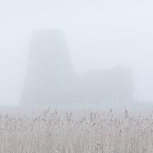 Misty St Benet's Abbey