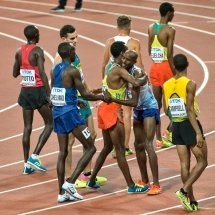 2017 Worlds Commiserations for Mo Farah