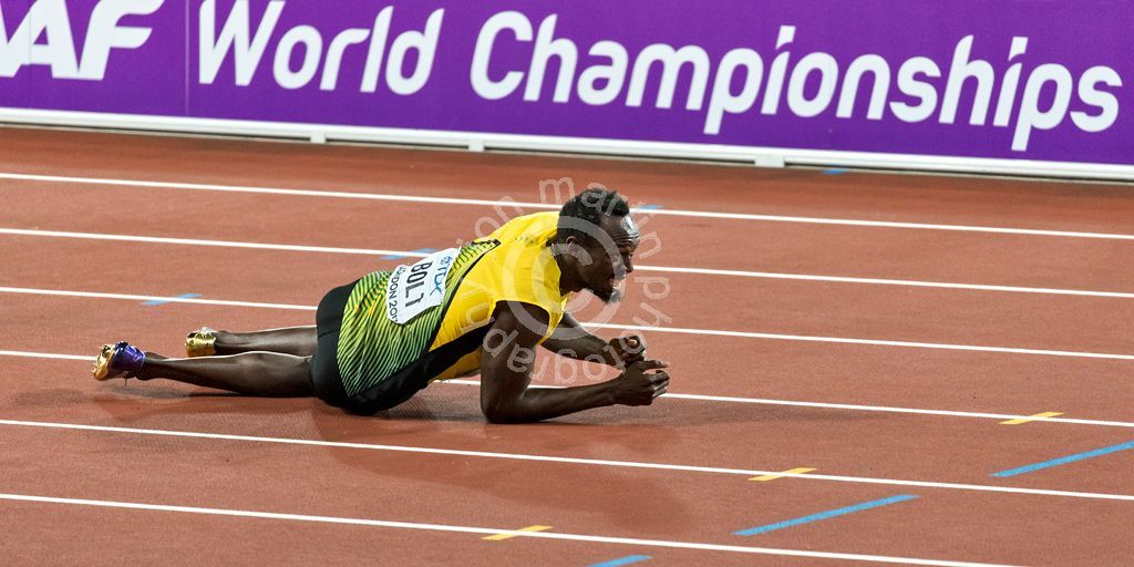 2017 Worlds Usain Bolt Down