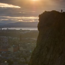 Sunset at Arthur's Seat, Edinburgh