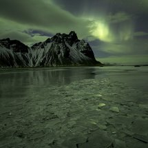 Aurora over Vestrahorn
