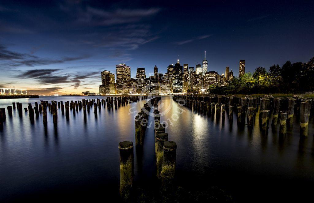 Brooklyn Bridge Park at Night