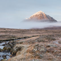 Buachaille Etive Mor from Kingshouse Hotel