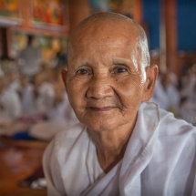 Cambodian Nun