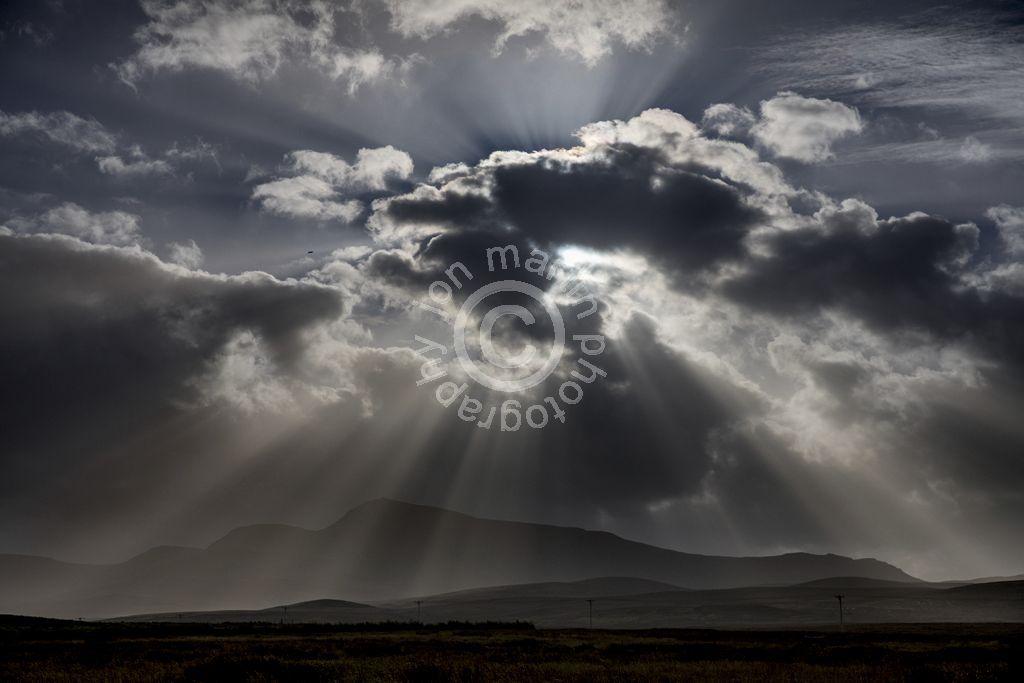 Cloud over Trotternish Ridge