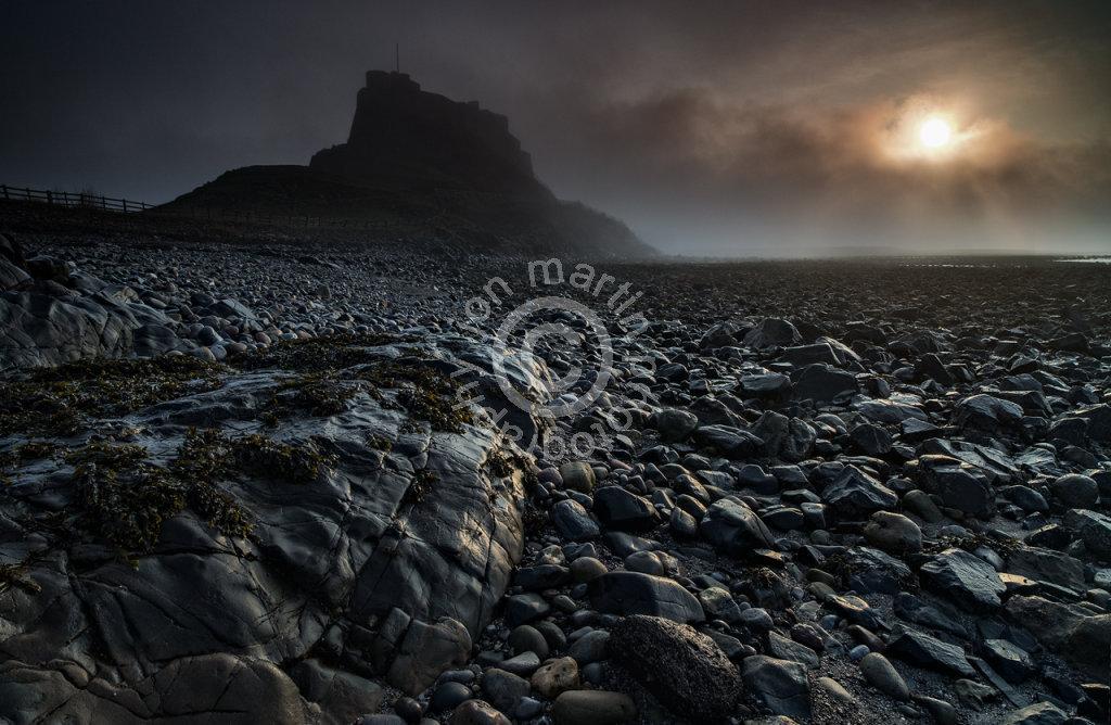 Dawn on Lindisfarne