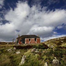 Deserted House, Isle of Harris