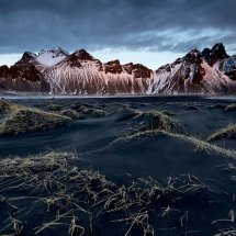Early Light at Vestrahorn