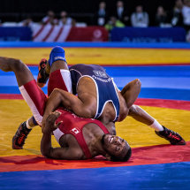 Freestyle Wrestling Throw