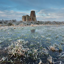 Frosty St Benet's Abbey