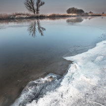 Frozen Norfolk Broads