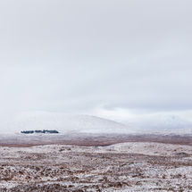 Snow Covered Rannoch Moor