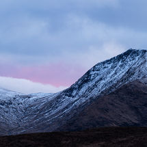 Glencoe Sunset Panorama
