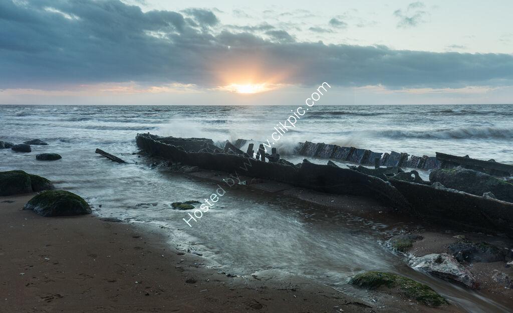 Wreck of the Sheraton, Hunstanton