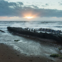 Wreck of the Sheraton, Hunstanton
