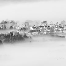 Keswick Shrouded in Mist