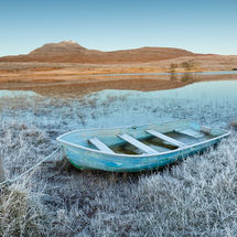 Frosty Morning at Loch Awe, Assynt
