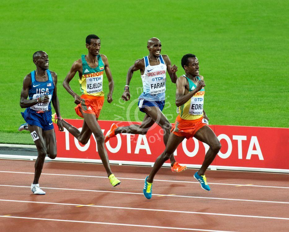 Mo Farah Wins 5000m Silver at 2017 World Championships
