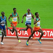 Mo Farah Wins 5000m Silver, 2017 World Champs