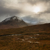 Storm over Glencoe