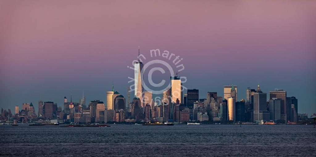 New York Skyline from Staten Island
