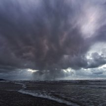 Rain Clouds over Ynyslas Beach