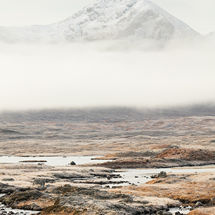 Frost on Rannoch Moor