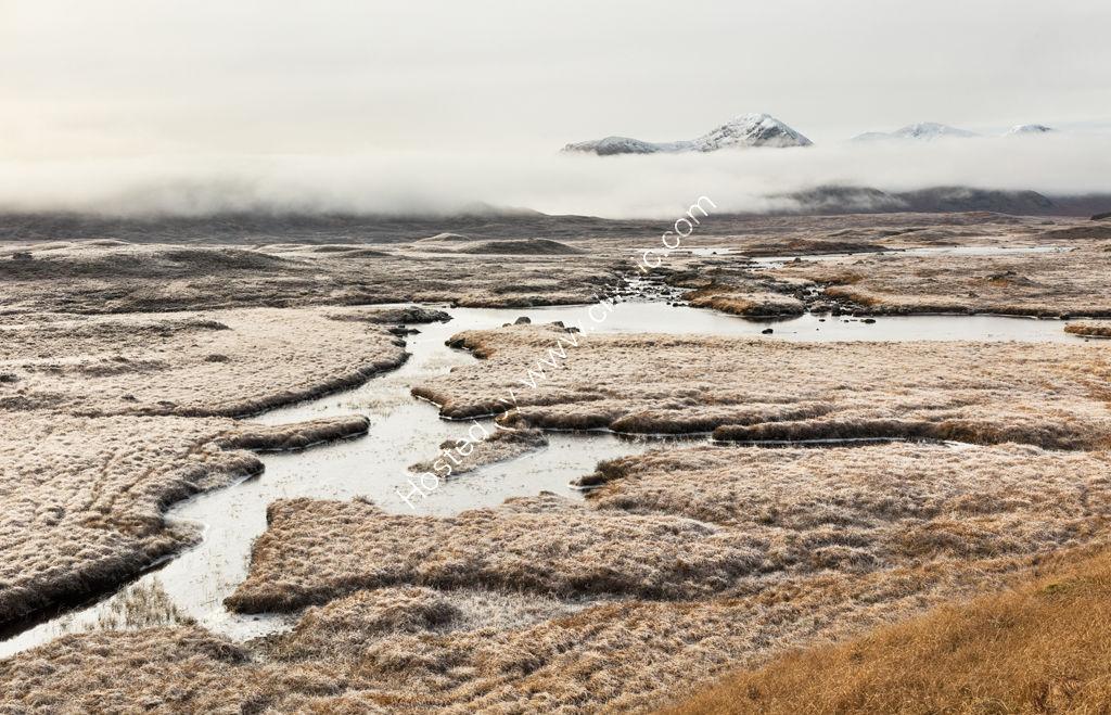Mist on Rannoch Moor