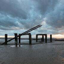 Ruined Pier, Snettisham Beach