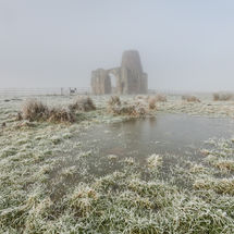 Freezing Fog at St Benet's Abbey