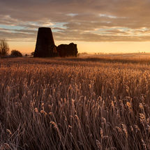 St Benet's Abbey after Sunrise