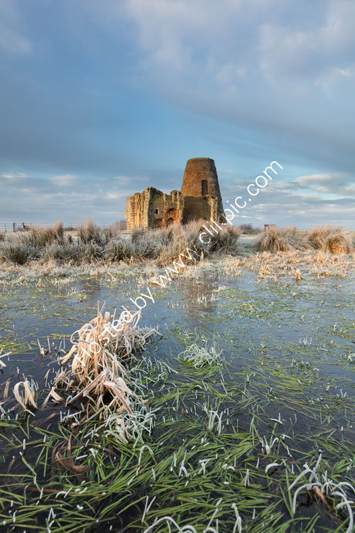 Frosty St Benet's Abbey Upright