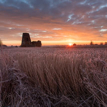 Winter Sunrise at St Benet's Abbey