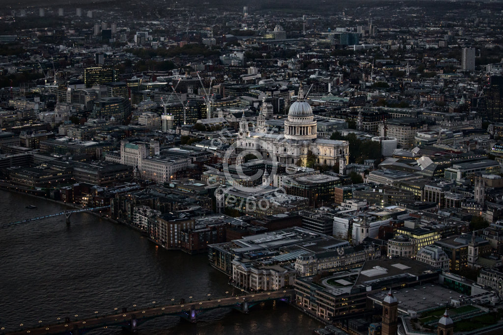 St Paul's from the Shard