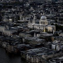St Pauls from the Shard for Home Page