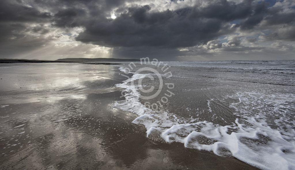 Clouds over Ynyslas Beach