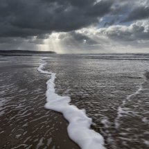 Clouds over Ynyslas Beach 3