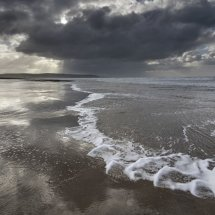 Clouds over Ynyslas Beach