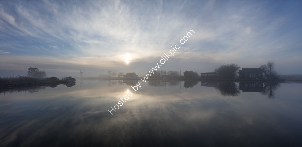 Thurne in the Mist