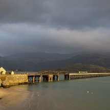 Train on Barmouth Bridge