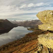 Ullswater from Gobarrow Park, Lake District