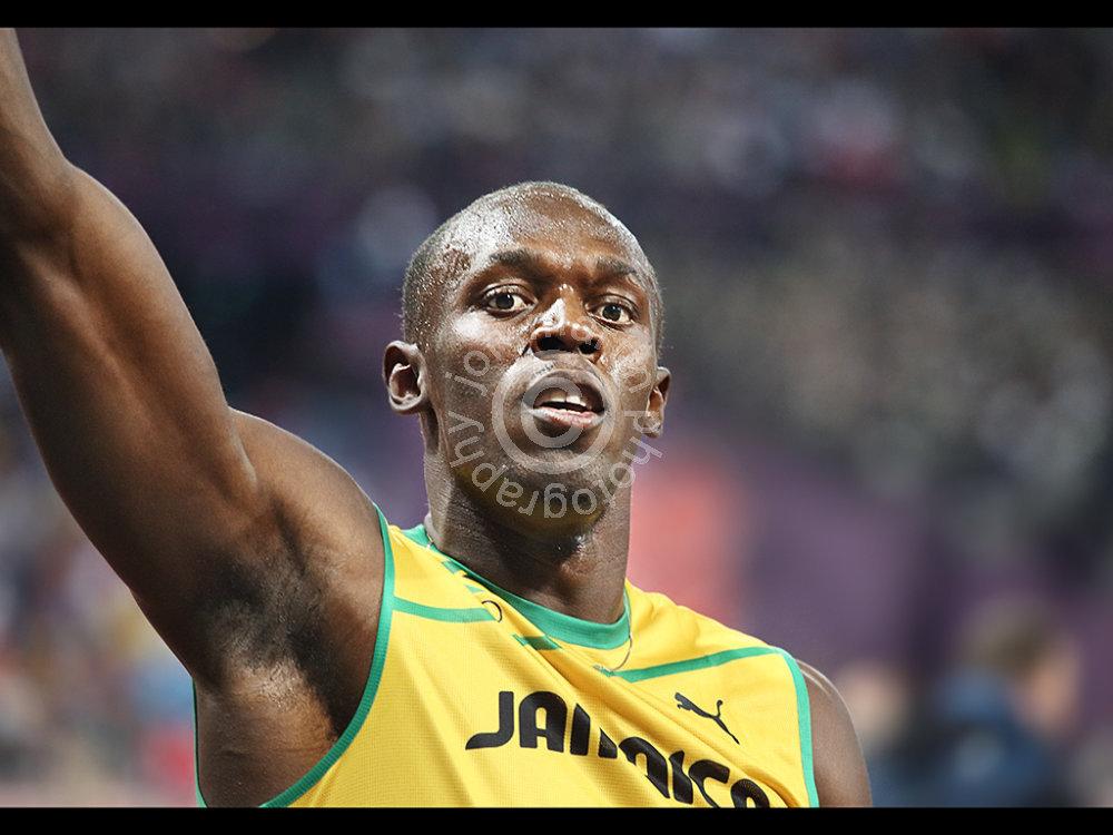 Usain Bolt Gold Medalist
