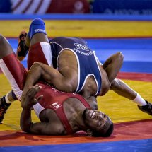Wrestling Commonwealth Games for Home Page