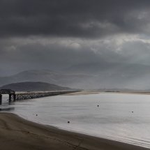 Barmouth Estuary and Bridge