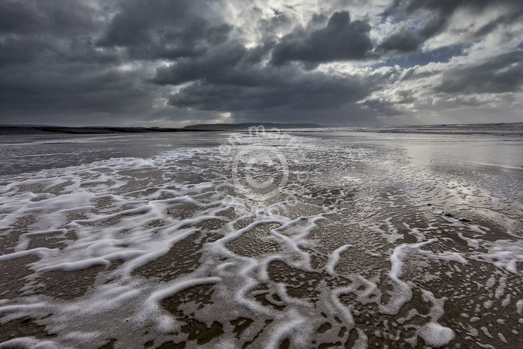 Clouds over Ynyslas Beach 2