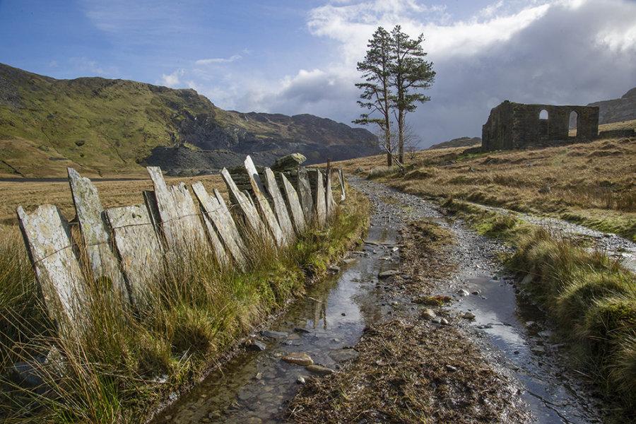 Path to Capel Rhosydd