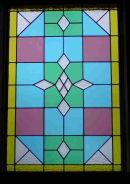Della's staircase window